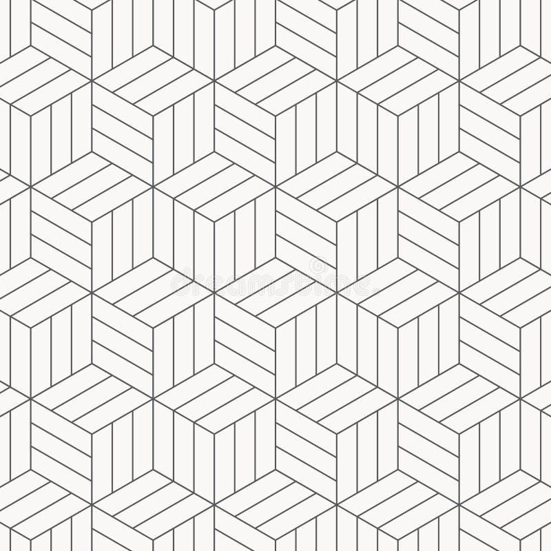 χρώματος διάφορο διάνυσμα παραλλαγών προτύπων πιθανό σύγχρονη μοντέρνη σύσταση Επανάληψη των γεωμετρικών κεραμιδιών Ριγωτοί μονοχ ελεύθερη απεικόνιση δικαιώματος