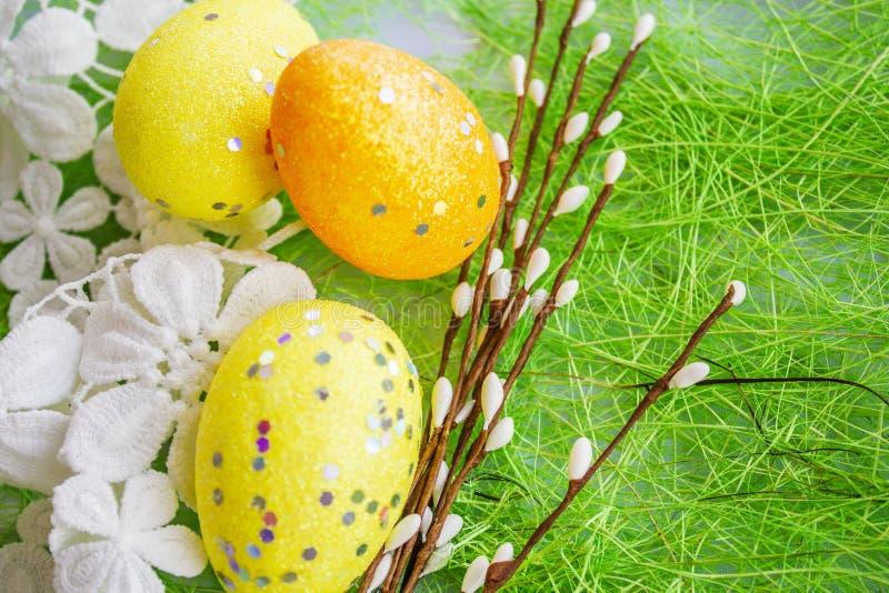 Χρώμα Ð ¿ Ð°Ñ  Ñ… а υποβάθρου αυγών Πάσχας στοκ εικόνα με δικαίωμα ελεύθερης χρήσης