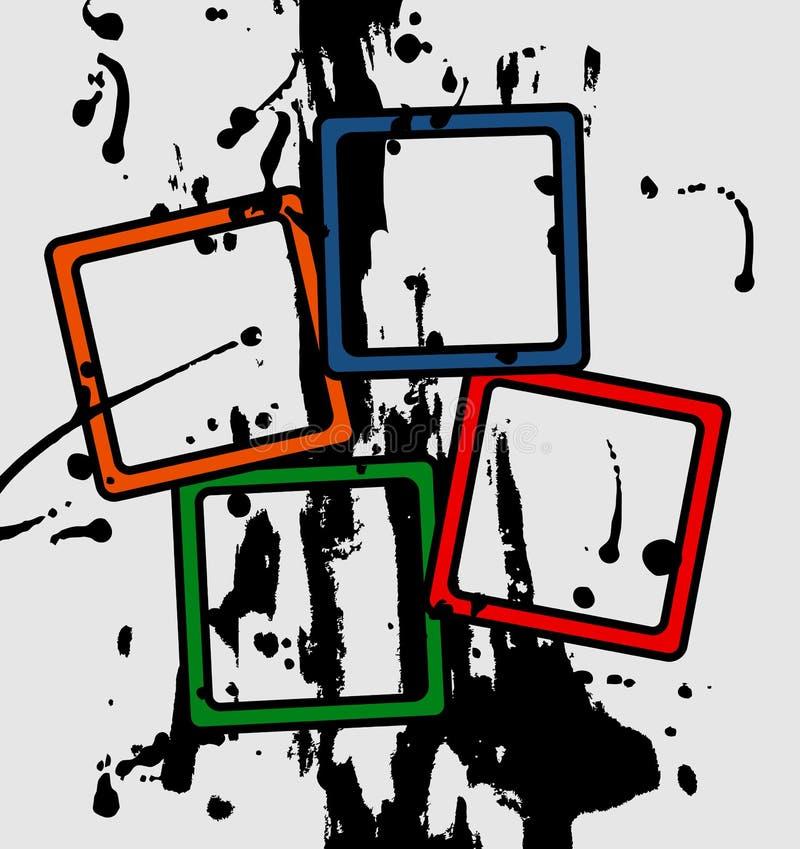 χρώμα ανασκόπησης τέχνης απεικόνιση αποθεμάτων