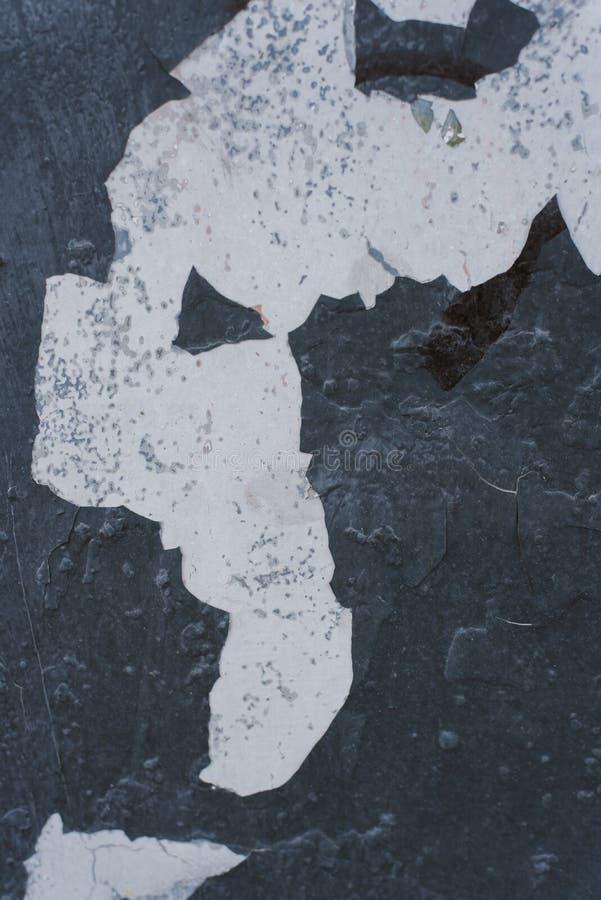 Χρώμα αποφλοίωσης στην άνευ ραφής σύσταση τοίχων στοκ φωτογραφία με δικαίωμα ελεύθερης χρήσης