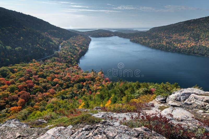 Χρώμα που αλλάζει το φθινόπωρο στοκ εικόνες με δικαίωμα ελεύθερης χρήσης
