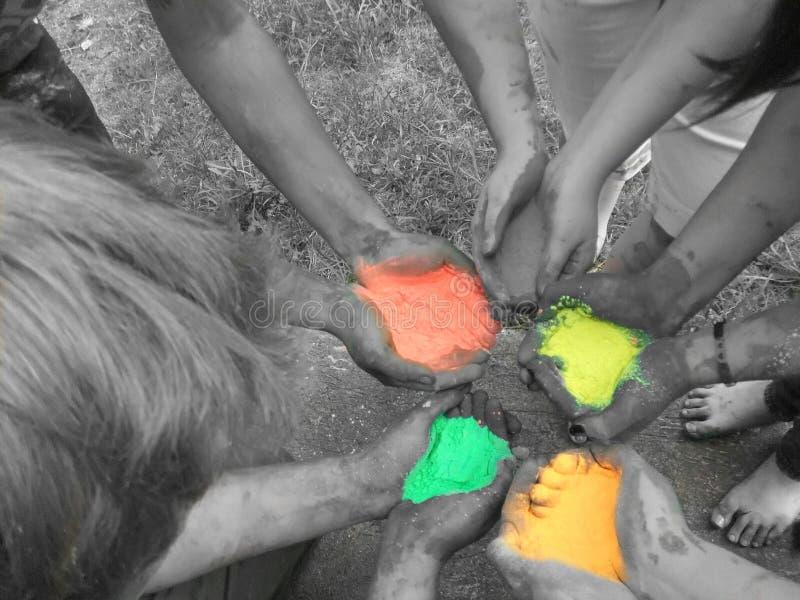 Χρώμα στον αέρα στοκ φωτογραφία με δικαίωμα ελεύθερης χρήσης