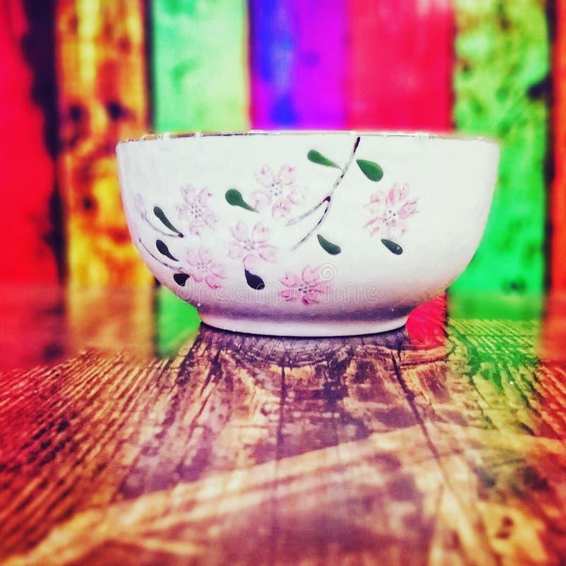Χρώμα στο πιάτο στοκ εικόνα με δικαίωμα ελεύθερης χρήσης