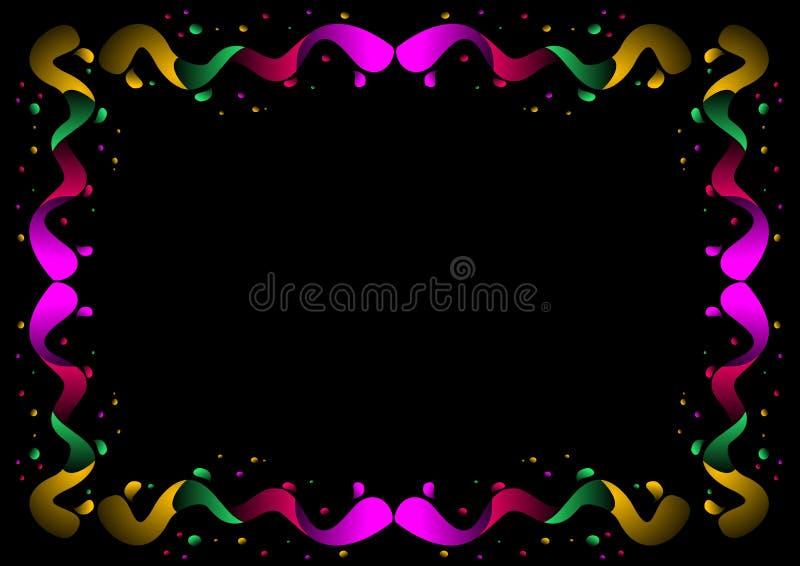 χρώμα συνόρων απεικόνιση αποθεμάτων