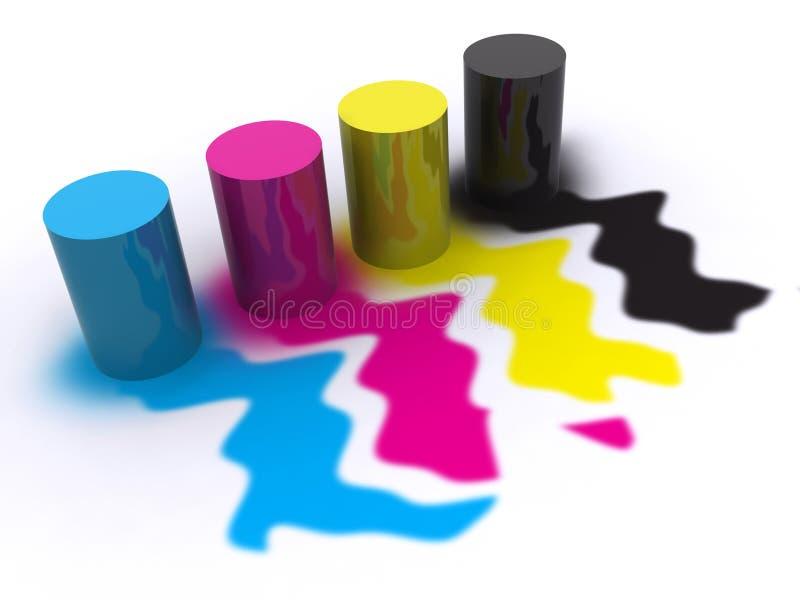 χρώμα απεικόνιση αποθεμάτων