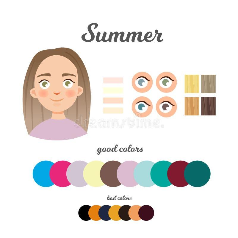 Χρώμα infographic διανυσματική απεικόνιση