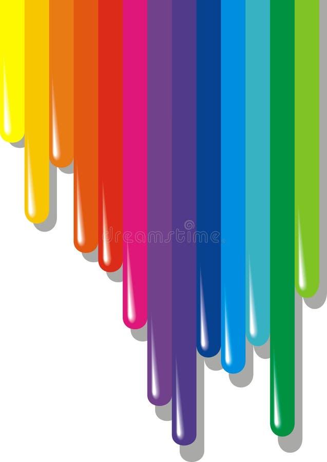 Χρώμα Pallette διανυσματική απεικόνιση