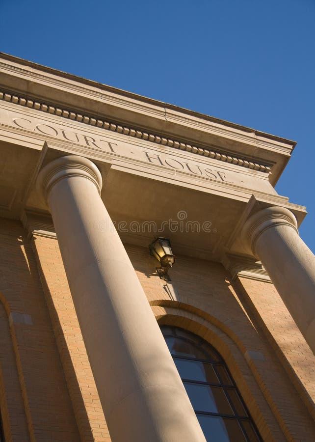 χτίζοντας δικαστήριο νομώ στοκ εικόνες με δικαίωμα ελεύθερης χρήσης