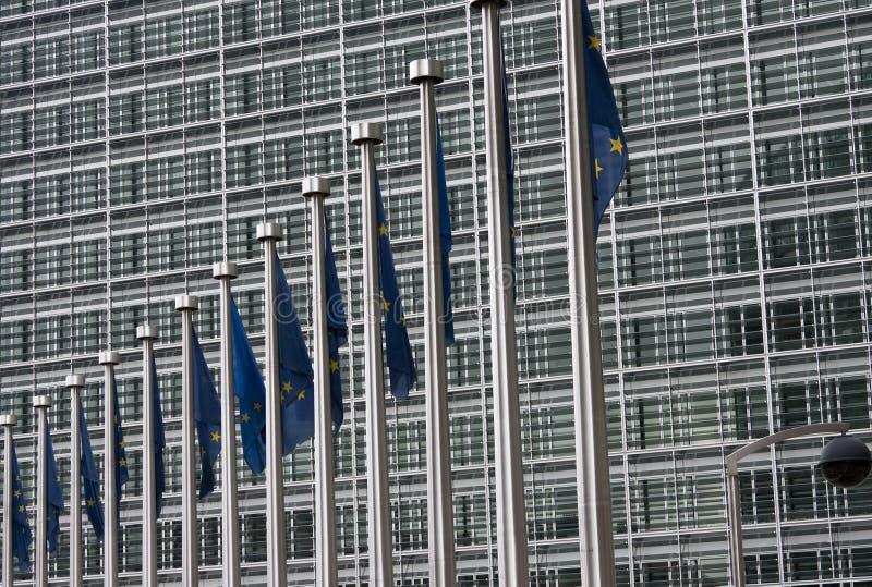 χτίζοντας ΕΕ στοκ εικόνες