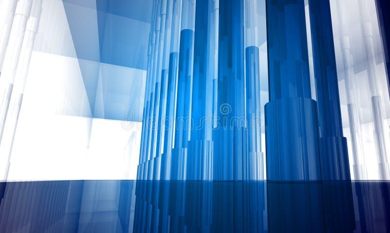 χτίζοντας εσωτερικός χώρ&om απεικόνιση αποθεμάτων