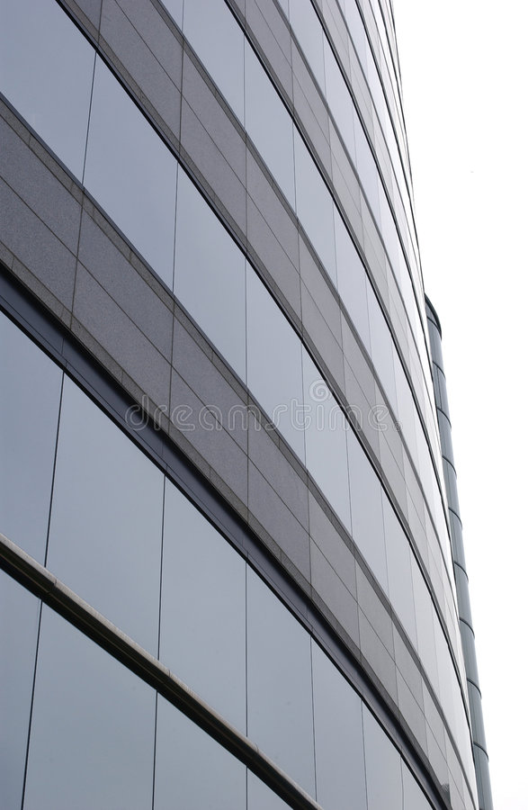 χτίζοντας εταιρικό σύγχρονο γραφείο στοκ εικόνα με δικαίωμα ελεύθερης χρήσης