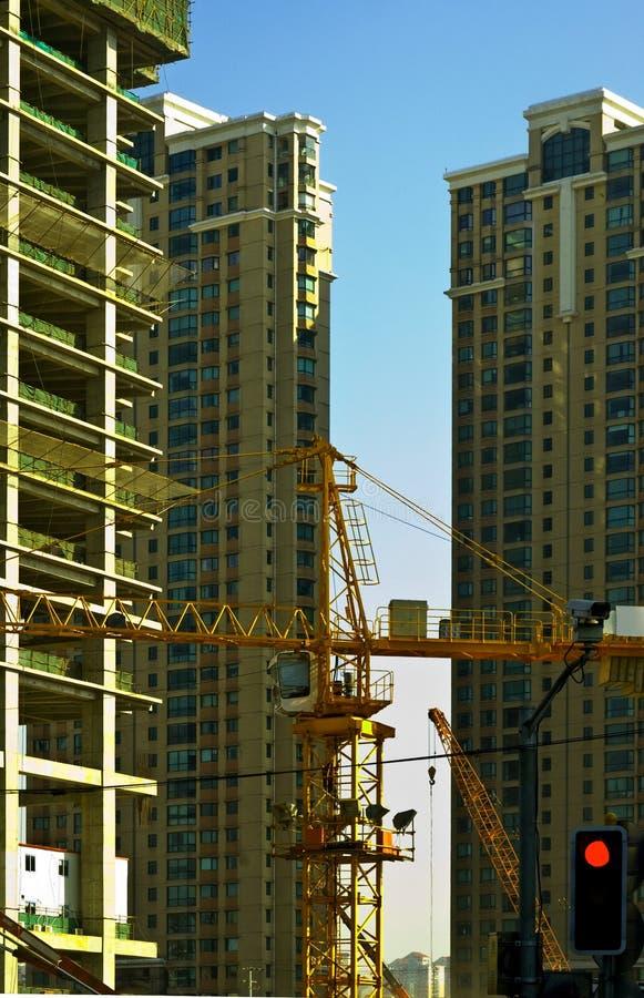 χτίζοντας ουρανοξύστης στοκ εικόνα με δικαίωμα ελεύθερης χρήσης