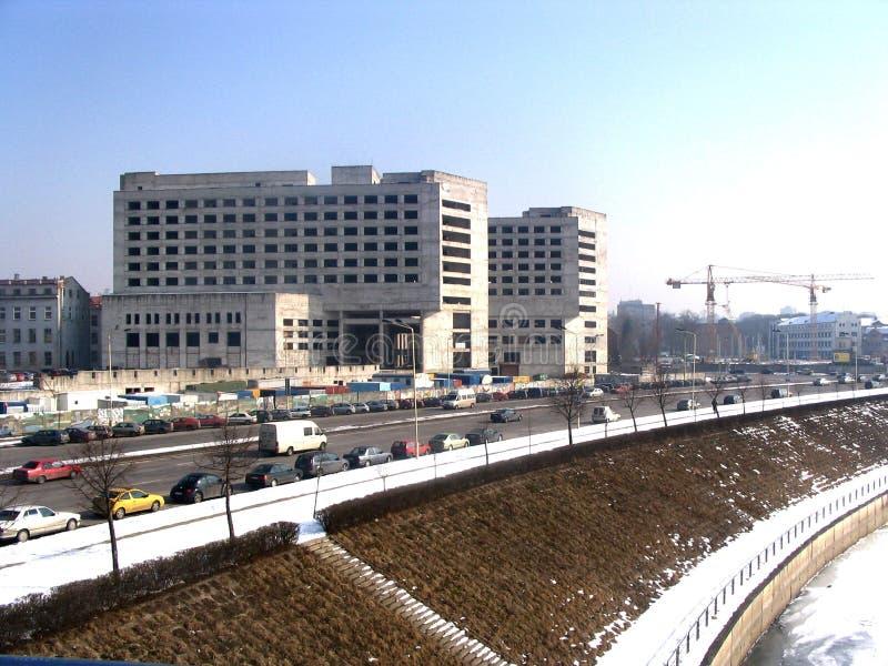 χτίζοντας πόλη στοκ φωτογραφία με δικαίωμα ελεύθερης χρήσης