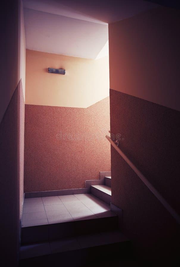 Χτίζοντας σκάλες αιθουσών στοκ φωτογραφίες