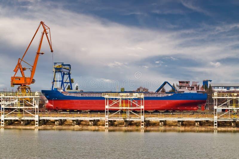 χτίζοντας σκάφος στοκ εικόνες με δικαίωμα ελεύθερης χρήσης