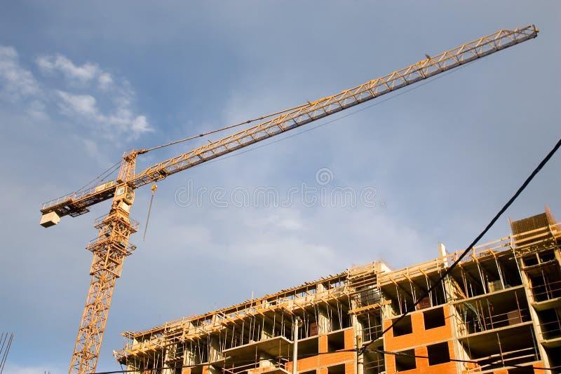 χτίζοντας σπίτι στοκ εικόνα