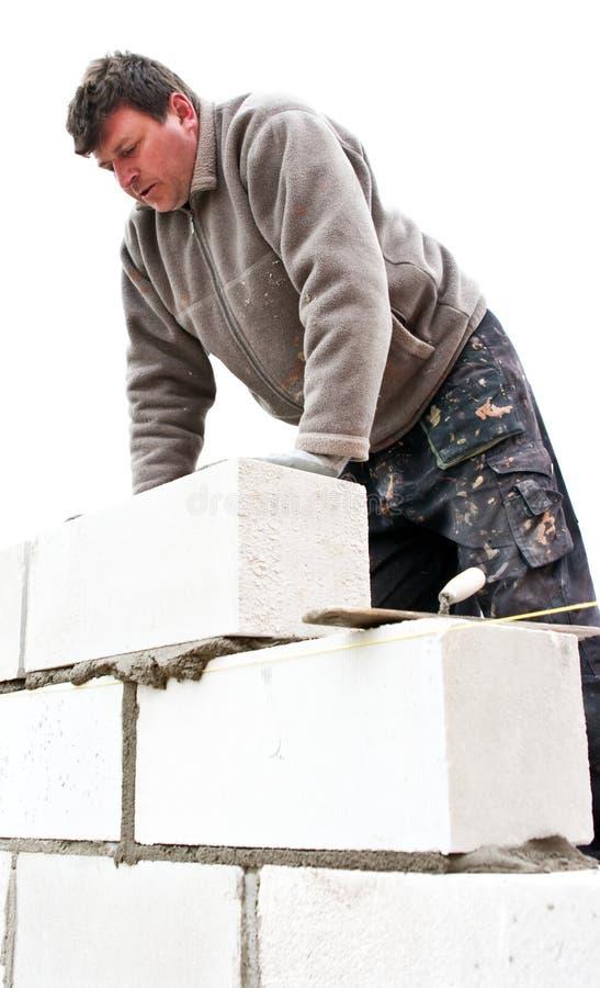χτίζοντας το σπίτι νέο στοκ φωτογραφία