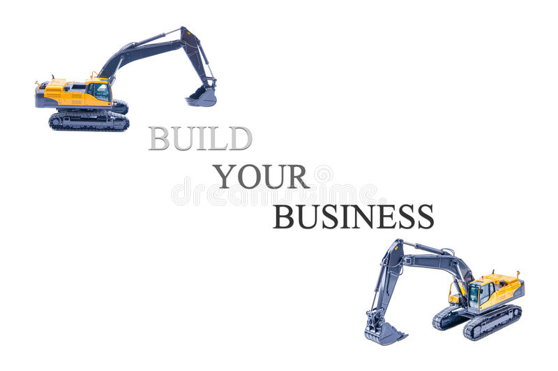 χτίστε την επιχείρησή σας στοκ φωτογραφία με δικαίωμα ελεύθερης χρήσης