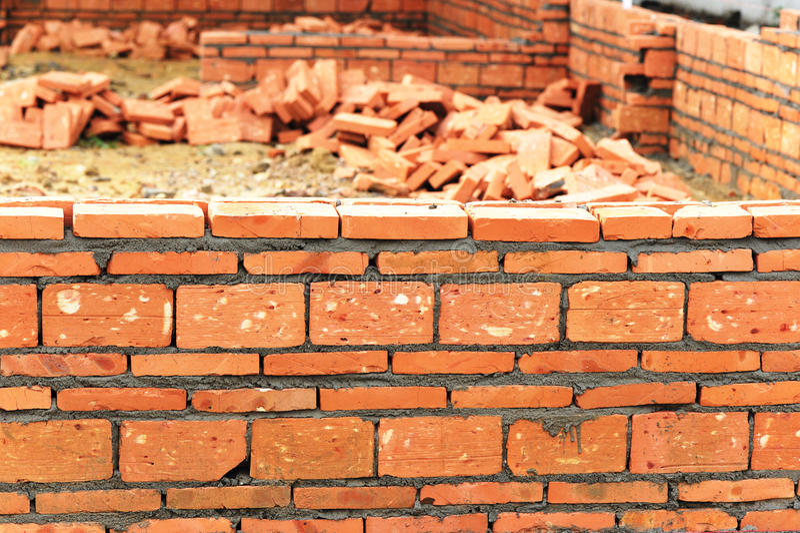 χτίστε το σπίτι νέο στοκ φωτογραφία με δικαίωμα ελεύθερης χρήσης