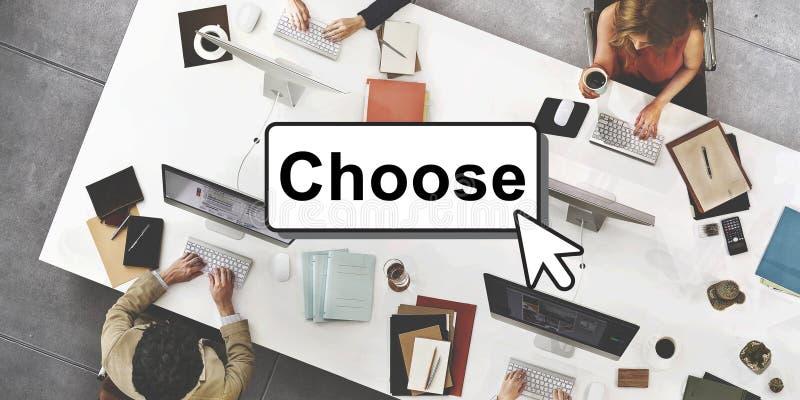Χτυπήστε επιλέγει προσθέτει την έννοια διεπαφών κουμπιών στοκ φωτογραφίες με δικαίωμα ελεύθερης χρήσης