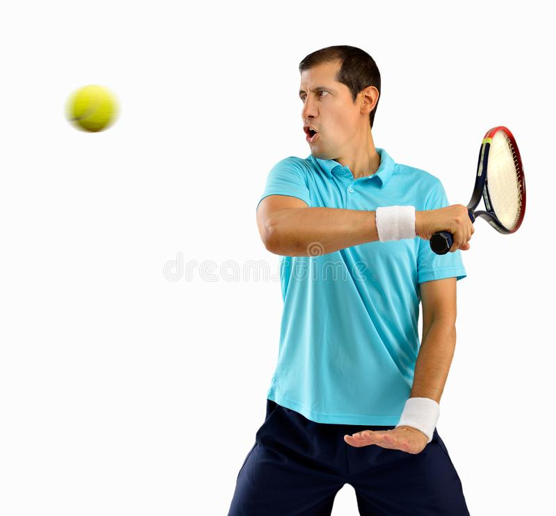 Χτύπημα της σφαίρας αντισφαίρισης στοκ φωτογραφία