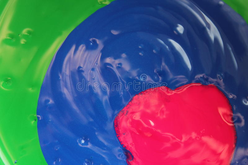 Χυμένο χρώμα στοκ εικόνα με δικαίωμα ελεύθερης χρήσης