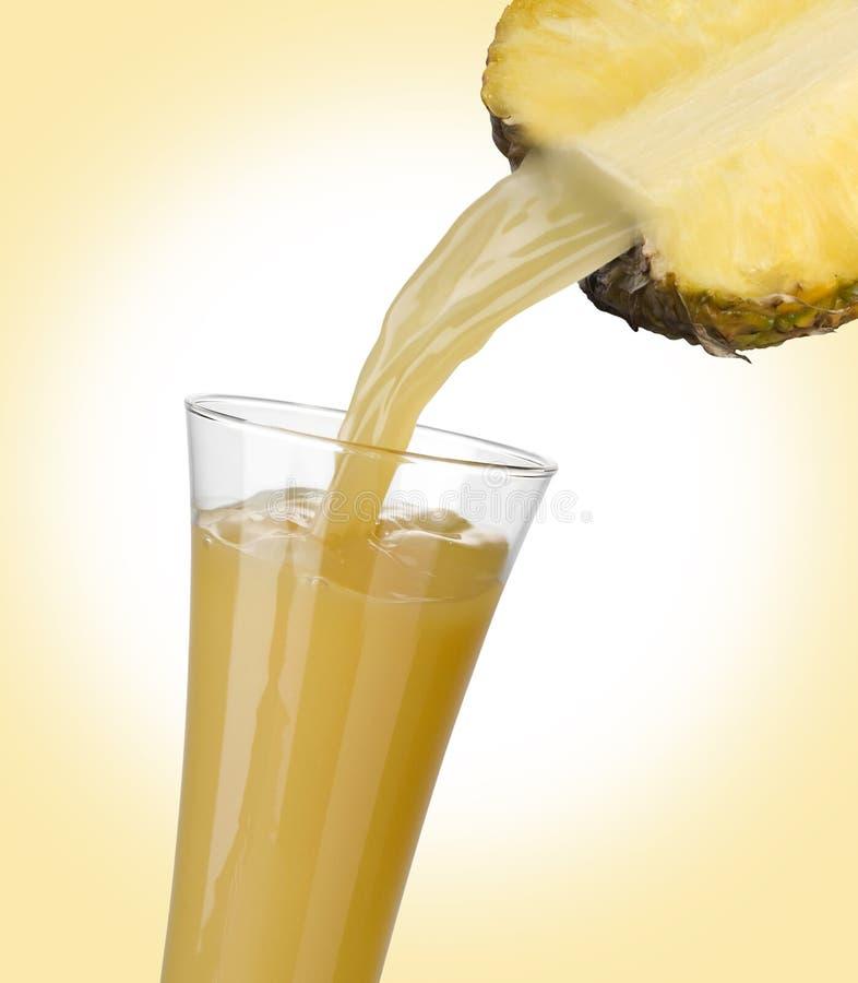 χυμός ανανάδων στοκ φωτογραφία