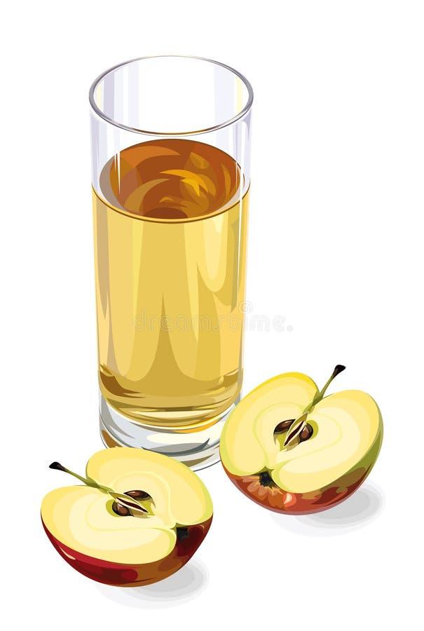 χυμός μήλων απεικόνιση αποθεμάτων
