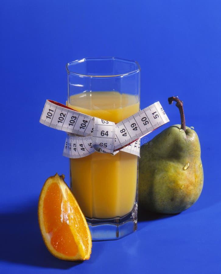 Χυμός φρούτων σε ένα γυαλί στοκ φωτογραφία
