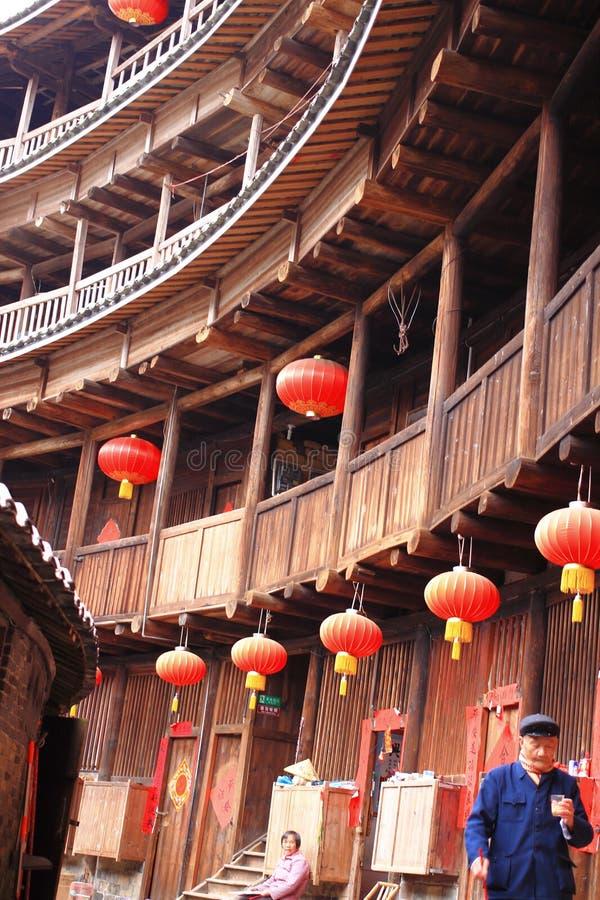 Χωμάτινες δομές Fujian στοκ εικόνες με δικαίωμα ελεύθερης χρήσης