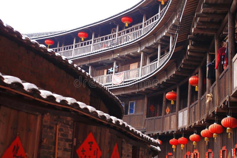 Χωμάτινες δομές Fujian στοκ φωτογραφίες με δικαίωμα ελεύθερης χρήσης
