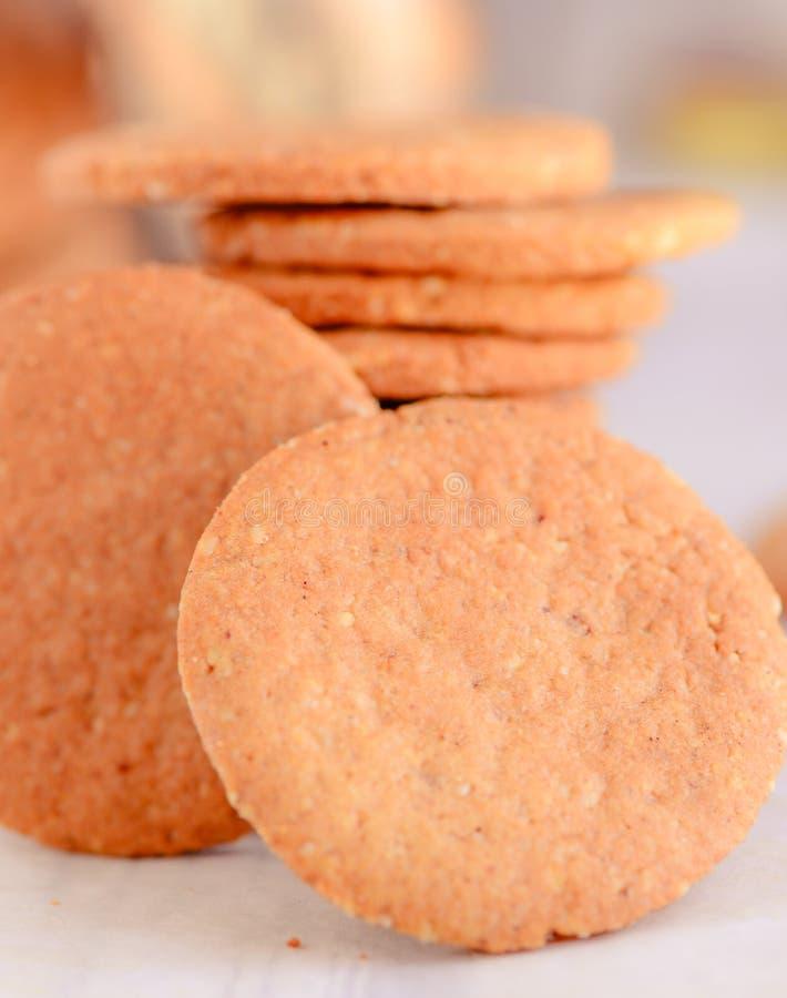Χωνευτικά μπισκότα στοκ φωτογραφίες