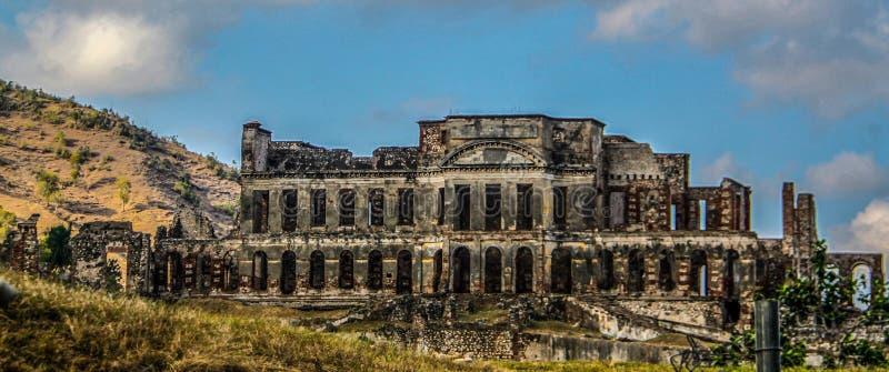 Χωρίς το παλάτι Souci σε Milot, Αϊτή στοκ εικόνες