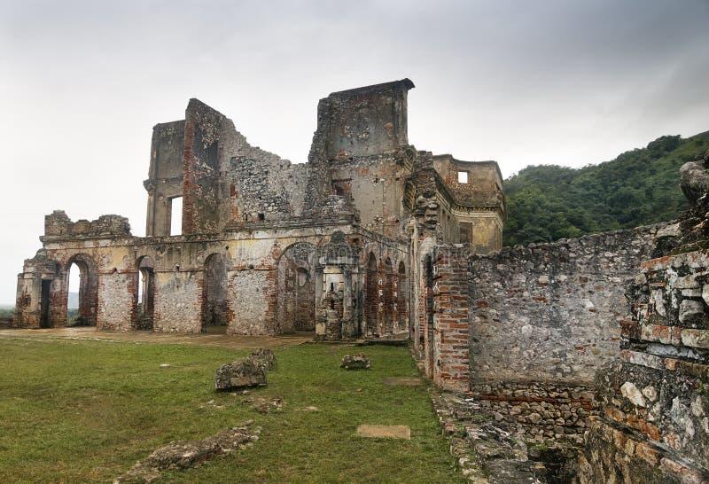 Χωρίς-Souci παλάτι, Αϊτή στοκ εικόνα