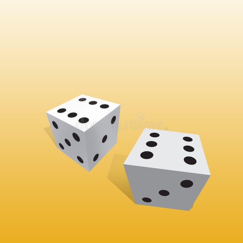 χωρίστε σε τετράγωνα τη χρηματοδότηση κύβων διανυσματική απεικόνιση