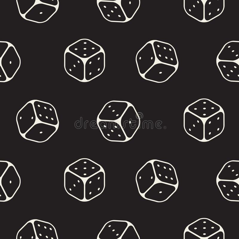 Χωρίστε σε τετράγωνα το άνευ ραφής μονοχρωματικό ουδέτερο υπόβαθρο εικονιδίων γραμμών σχεδίων απεικόνιση αποθεμάτων