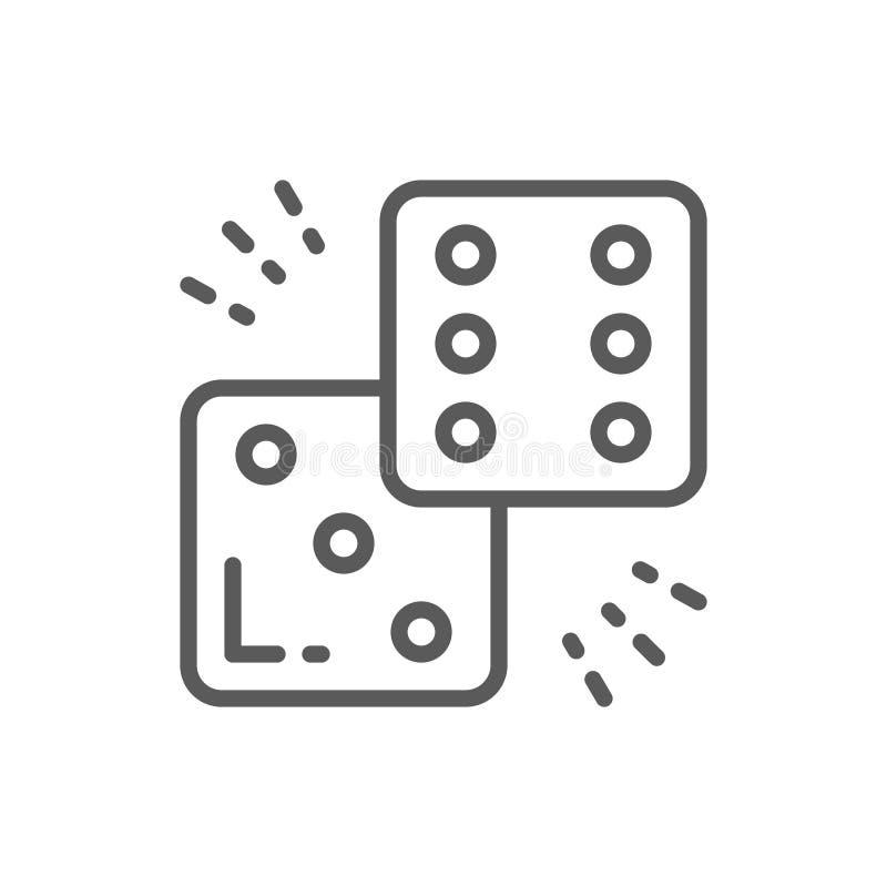 Χωρίστε σε τετράγωνα το εικονίδιο γραμμών απεικόνιση αποθεμάτων