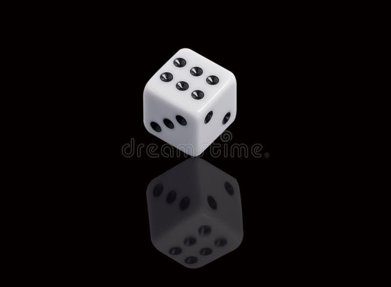 χωρίστε σε τετράγωνα το λευκό στοκ φωτογραφία
