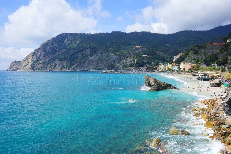 Χωριά στην ακτή του Λα Spezia στοκ εικόνες με δικαίωμα ελεύθερης χρήσης