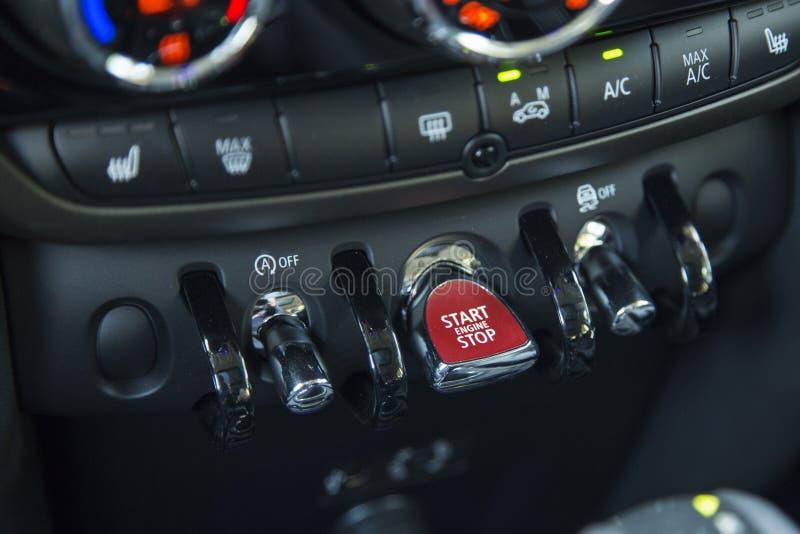 Χωρικός του Mini Cooper στοκ εικόνες με δικαίωμα ελεύθερης χρήσης