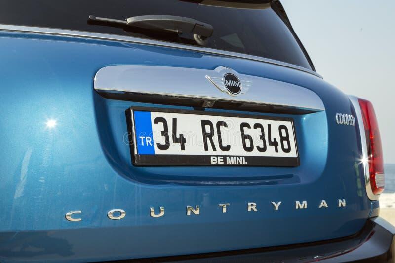 Χωρικός του Mini Cooper στοκ φωτογραφία με δικαίωμα ελεύθερης χρήσης