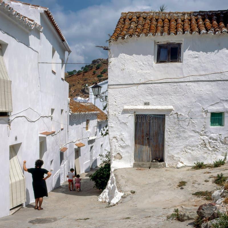 Χωριό, Ισπανία στοκ φωτογραφίες με δικαίωμα ελεύθερης χρήσης