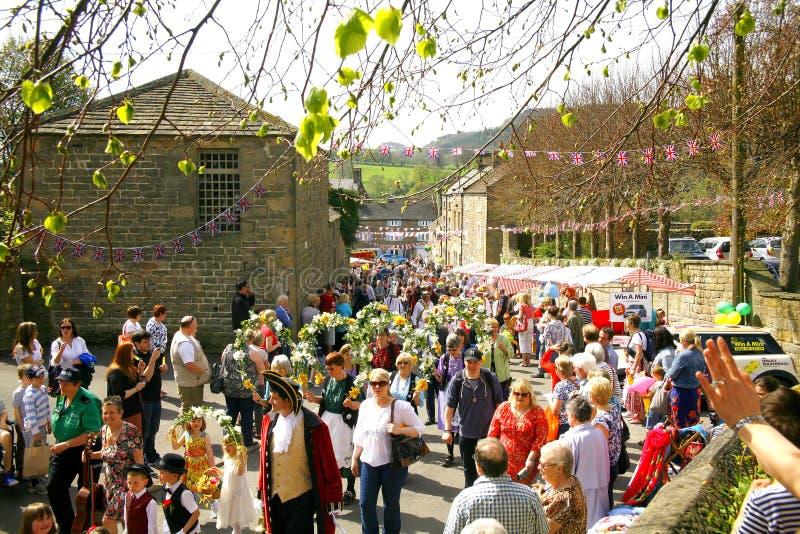 Χωριό καρναβάλι  στοκ φωτογραφία με δικαίωμα ελεύθερης χρήσης