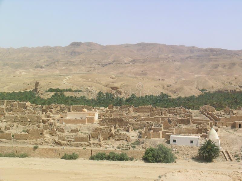 χωριό καταστροφών στοκ εικόνα με δικαίωμα ελεύθερης χρήσης
