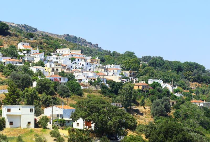 χωριό λεπτομέρειας apostoli στοκ φωτογραφία με δικαίωμα ελεύθερης χρήσης