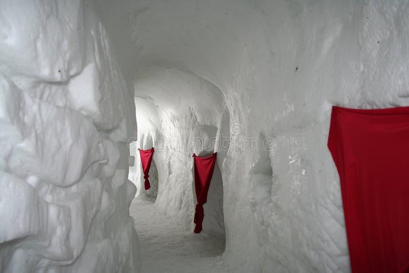 χωριό παγοκαλυβών στοκ εικόνες