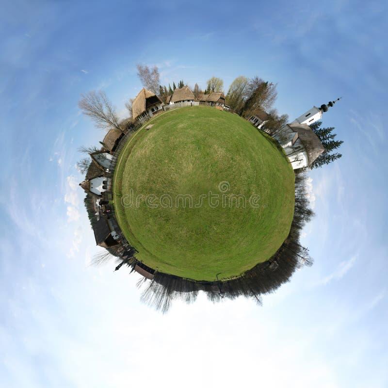 χωριό πλανητών στοκ φωτογραφίες με δικαίωμα ελεύθερης χρήσης