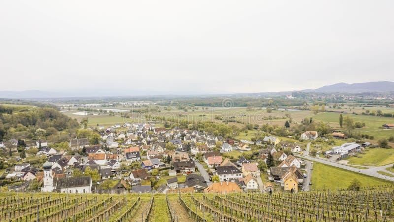 Χωριό σε μια κοιλάδα στη Γερμανία στοκ φωτογραφία με δικαίωμα ελεύθερης χρήσης