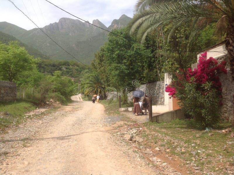 Χωριό σε Mountin στοκ φωτογραφία με δικαίωμα ελεύθερης χρήσης