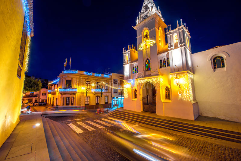 Χωριό σιλό Los Tenerife isalnd στοκ φωτογραφία